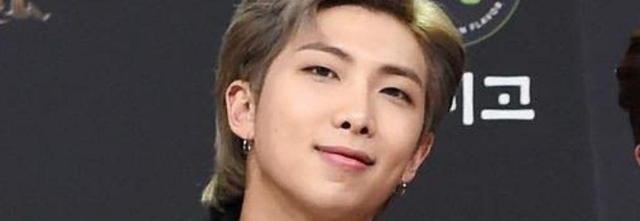 La expresión de RM de BTS al ver a Soobin de TXT y Arin de Oh My Girl conmueve a los fans