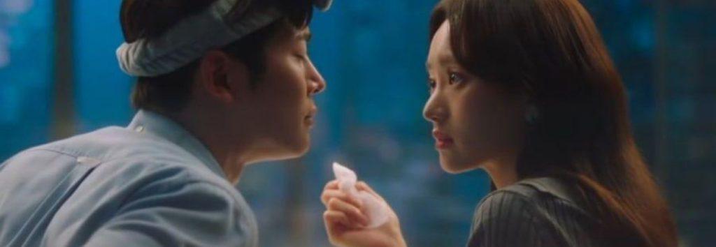 "Rowon de SF9 y Won Jin Ah en nuevo tráiler para ""Sunbae, Don't Put On That Lipstick"""