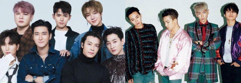 """Big Bang y Super Junior: Camino al premio """"Leyend Grand Prize"""" de los SMA 2021"""