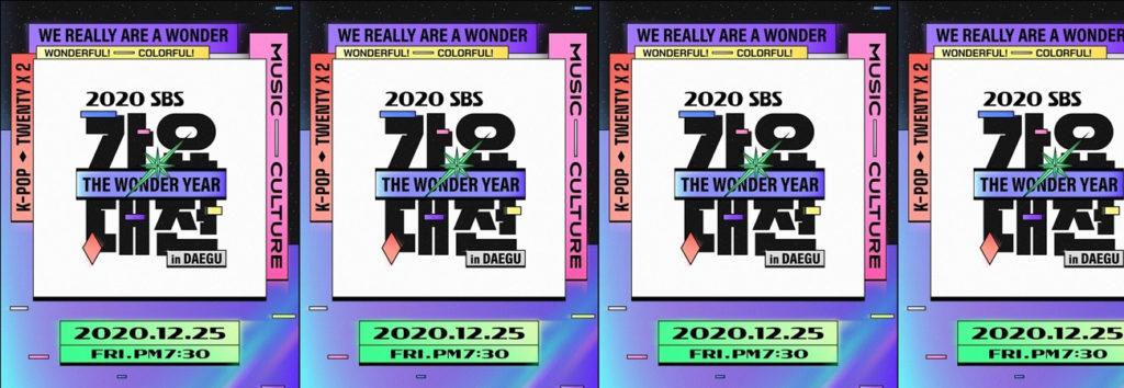 TODAS las presentaciones de 2020 SBS Gayo Daejun in Daegu están grabados por COVID-19
