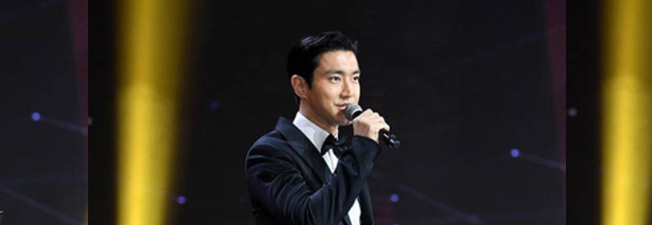Siwon de Super Junior envió cajas con campán y regalos a artistas y staff de los TMA