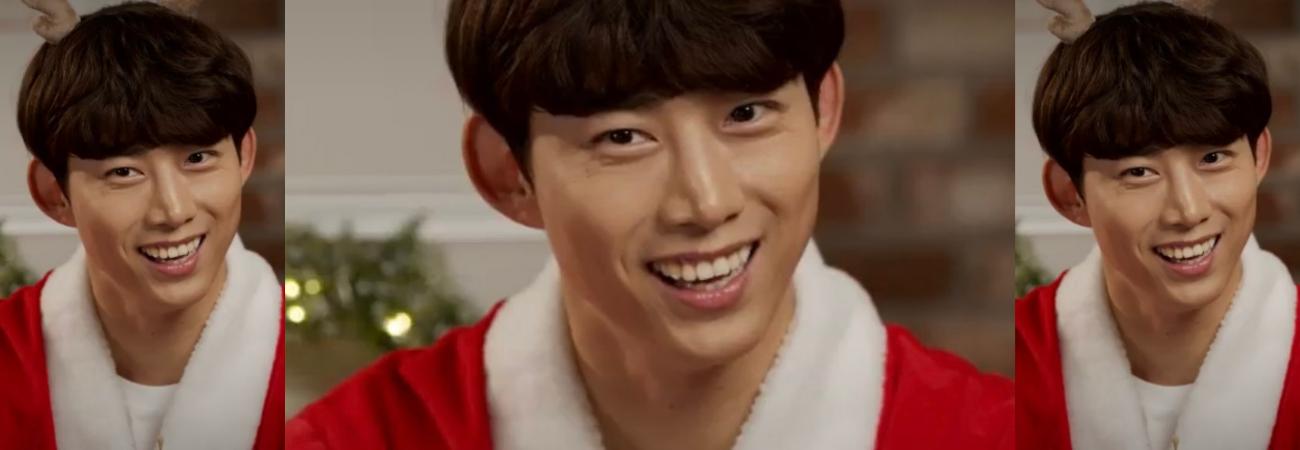 Taecyeon de 2pm se convierte en Santa para sus Fans