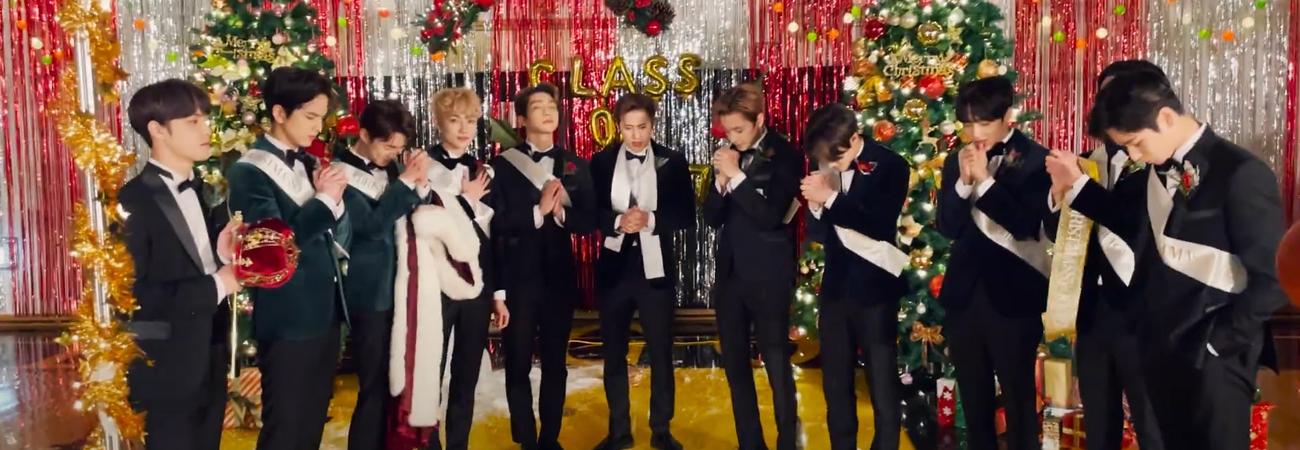 The Boyz revelan su MV para celebrar Christmassy!