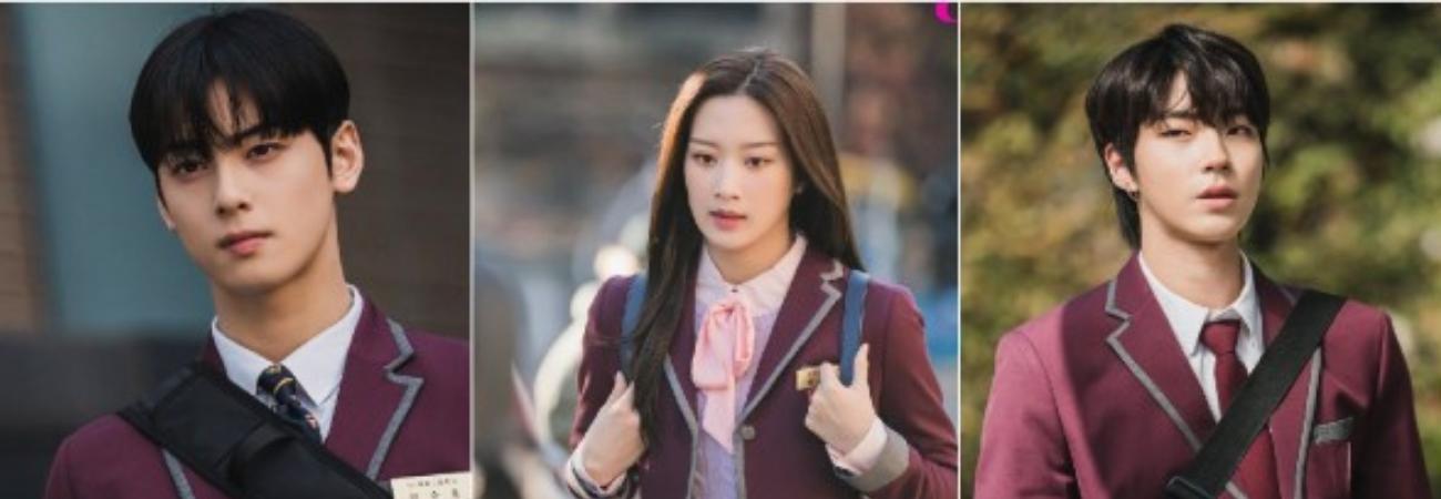 Cha Eun Woo y Hwang In Yeop muestran sus sentimientos hacia Moon Ga Young en 'True Beauty'