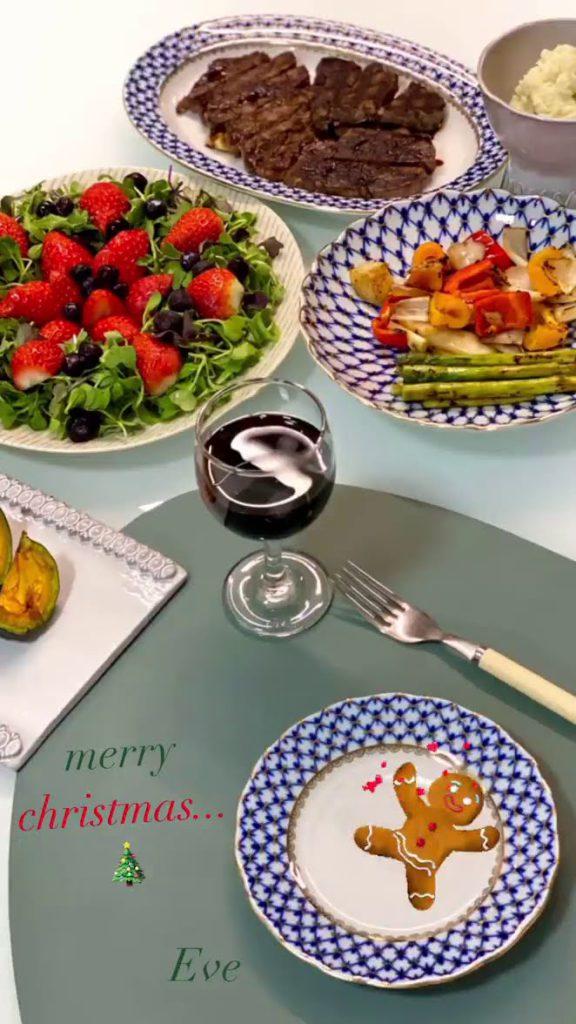 comida navideña de Wendy's