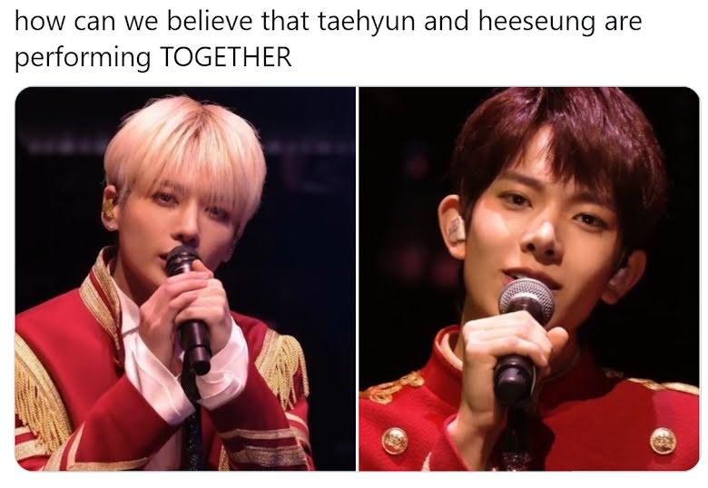 Taehyun de TXT y Heeseung de ENHYPEN tuvieron un reencuentro en el escenario de 'New Year's Eve Live'