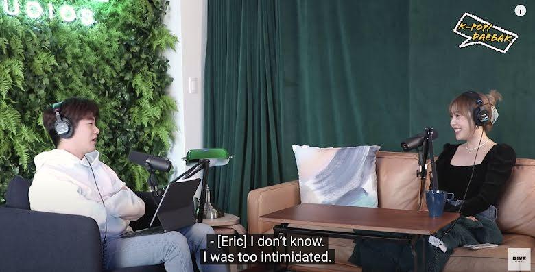 Eric Nam confiesa que se sintió intimidado una vez por Rosé de BLACKPINK