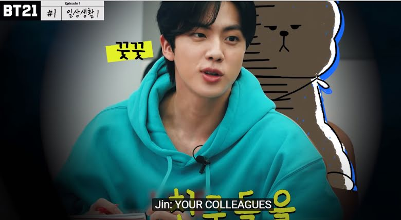 Estos son los mejores momentos de Jin de BTS en el 2020