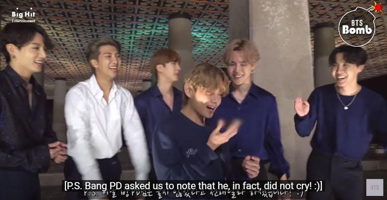 Cuatro momentos en los que las celebridades se conmovieron con BTS
