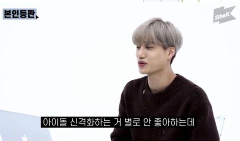 """Esta es la reacción de KAI de EXO cuando le dicen que es """"Un Dios"""""""