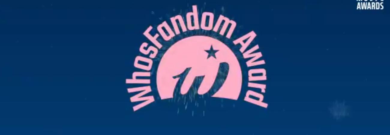 Así puedes votar en los 'WhosFandom Awards'