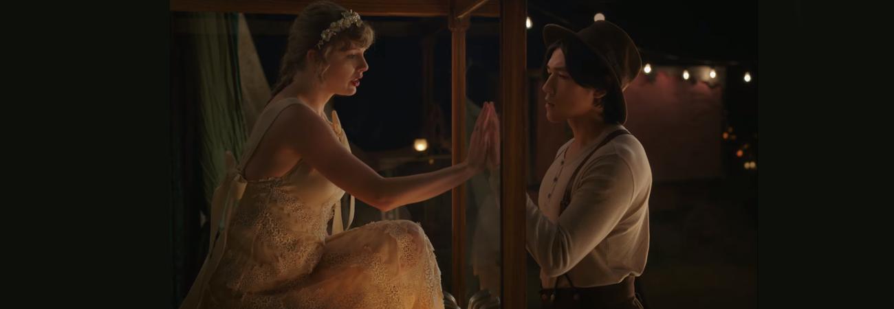 Conoce a Teok Lee, la nueva pareja de Taylor Swift en el MV de 'Willow'