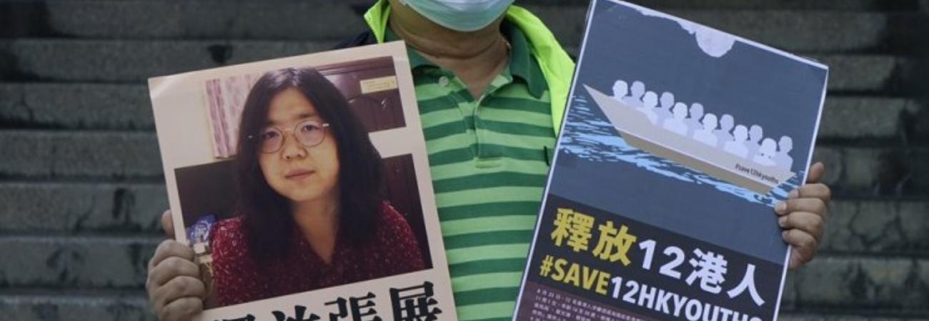 Condenan a 4 años de cárcel a la periodista que informó del primer Brote en Wuhan de Covid
