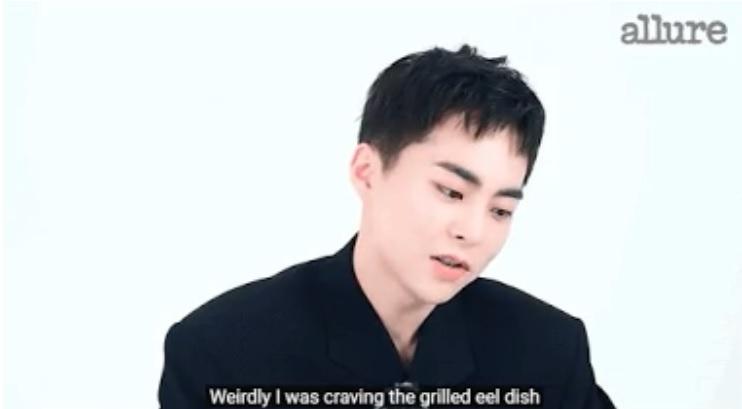 Xiumin de EXO confiesa que extrañaba la comida de su padre durante su servicio militar