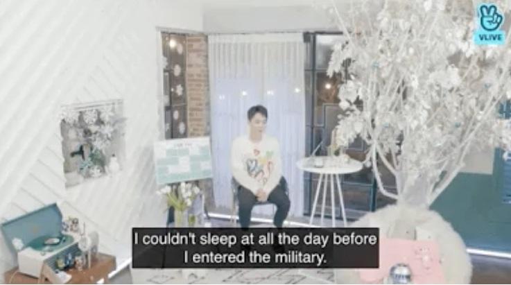 Xiumin de EXO confiesa que no pudo dormir el día anterior de su ingreso al servicio militar