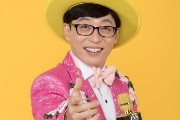Yoo Jae Suk, una vez más elegido comediante del año por Gallup Korea