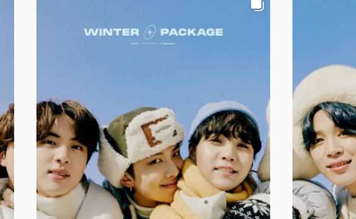 BTS Presenta 2021 WINTER PACKAGE
