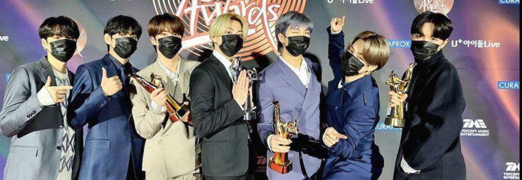 BTS ganha pelo segundo ano consecutivo a categoria de álbum do ano no Golden Disc Awards
