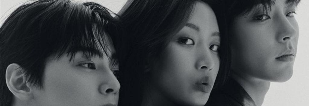 Cha Eun Woo, Moon Ga Young y Hwang In Yeop hablan sobre encontrar su propia True Beauty para VOGUE