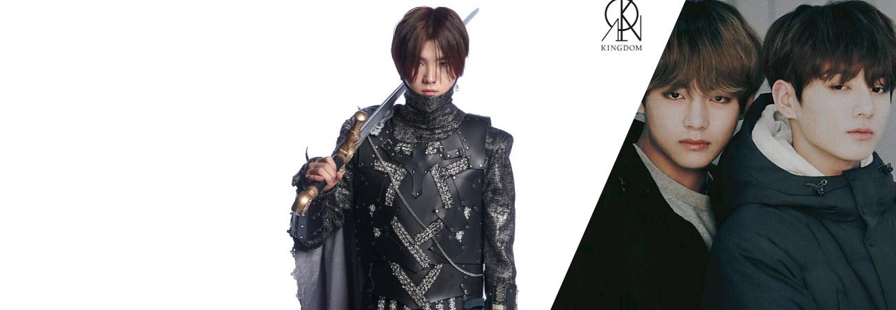 Chiwoo de Kingdom comparte que V y Jungkook de BTS son sus modelos a seguir
