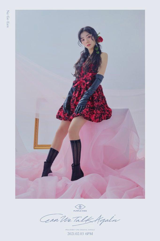 Goeun & Dosie de Purple K!ss revelan sus fotos conceptuales para 'Can We Talk Again'