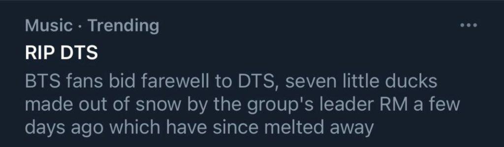 RM de BTS realiza una actualización sobre 'DTS' y esta es la reacción de los fans