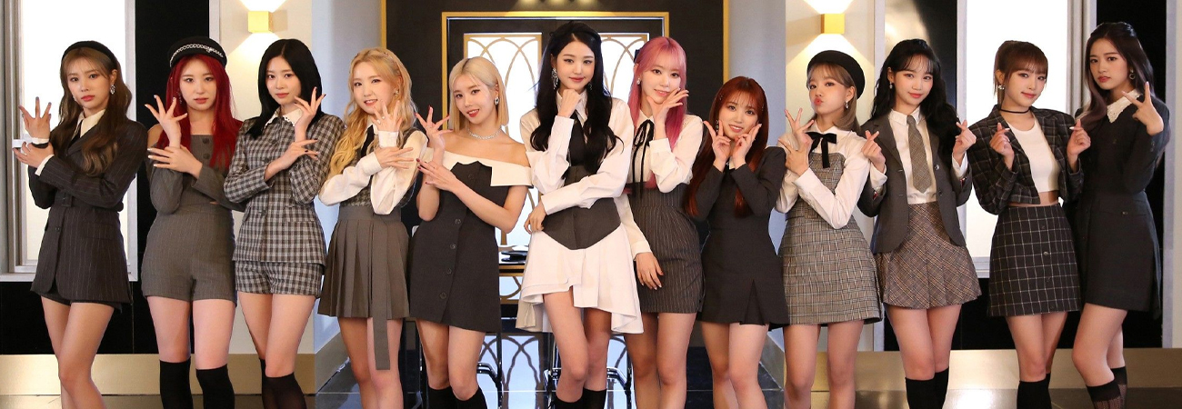 IZ*ONE el mejor grupo de chicas en 2020 'vendió 1,29 millones de copias'