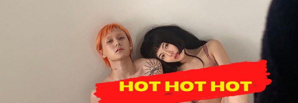 Isto é muito HOT! HyunA e Dawn posam em roupa íntima para Calvin Klein