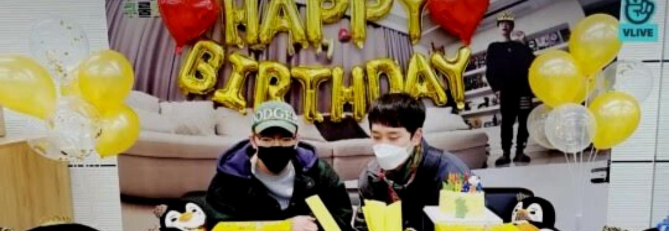 Jun. K y Chansung de 2PM celebran el cumpleaños de Junho, ¡Sin Junho!