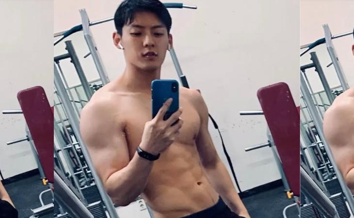 Minhyuk do BTOB causa furor com seu corpo exercitado