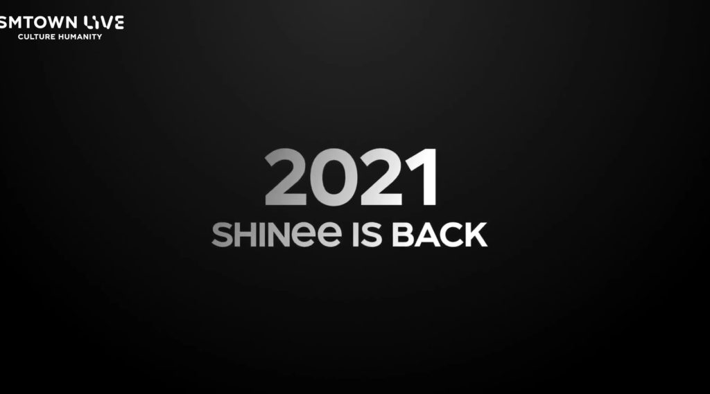 SM Entertainment anuncia regreso de SHINee en 2021