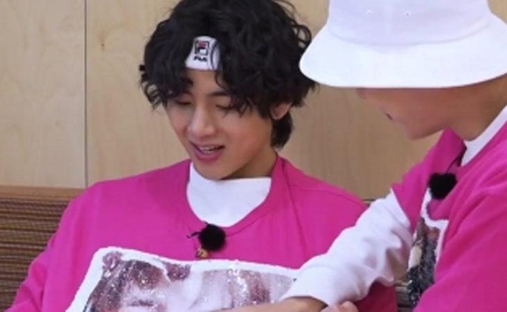 La imagen de v taehyung en 'Run BTS' calentó los corazones de ARMY