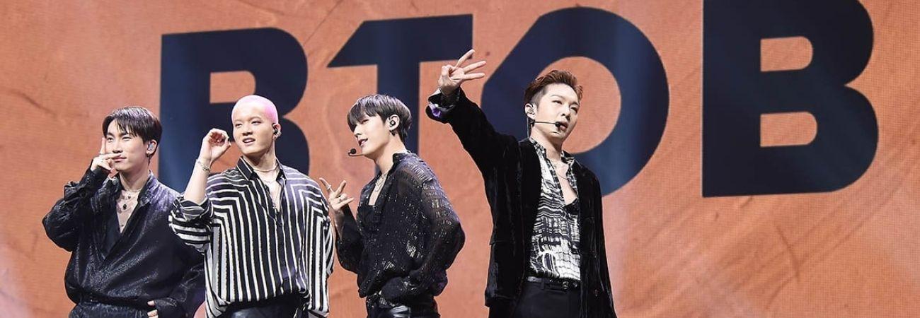 Mnet revela que BTOB rechazó la invitación para participar en