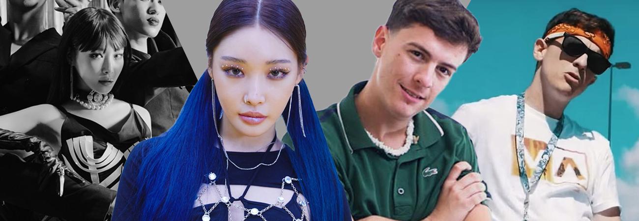 Chung Ha tendrá una colaboración con el reguetonero GUAYNAA