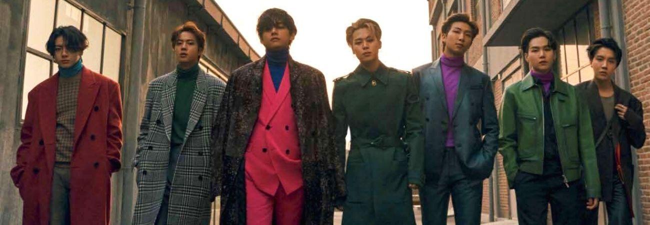 Esquire nombra a BTS como una de las mejores bandas de pop de todos los tiempos