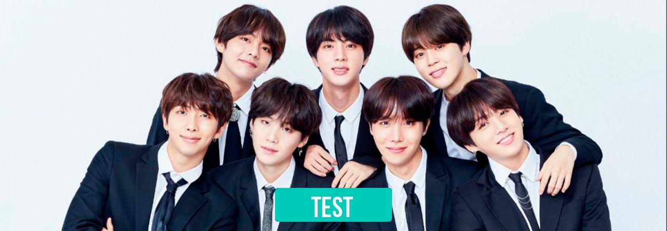 TEST: ¿Qué miembro de BTS interrumpirá tu boda?