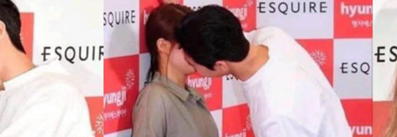 Park Seo Joon criticado por fingir beijar seus fãs em reuniões de fãs
