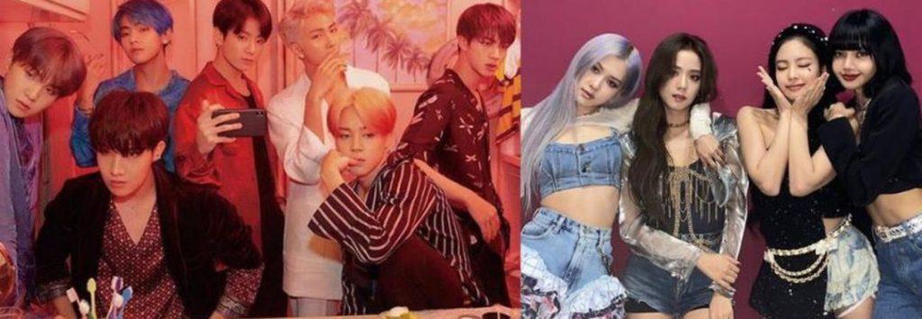 Netizens sorprendidos por la cantidad de álbumes adquiridos por bases de fans chinos de BTS y BLACPINK