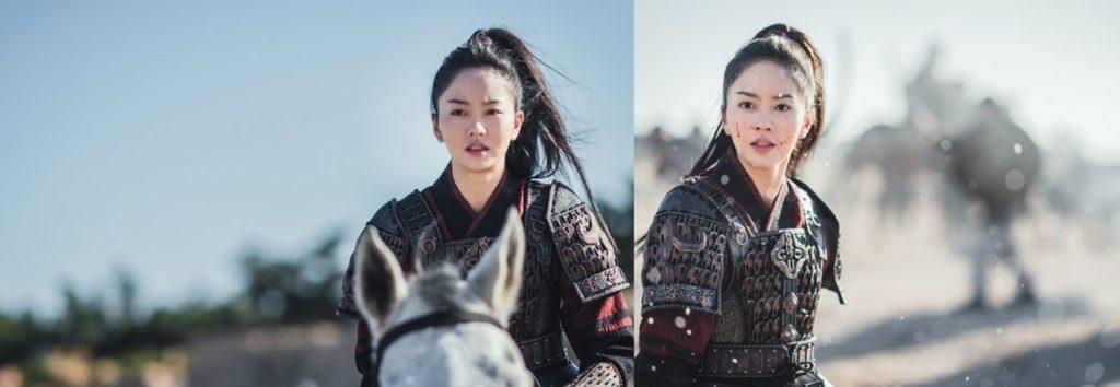 "KBS revela imágenes de Kim So Hyun en el drama histórico ""River Where the Moon Rises"""