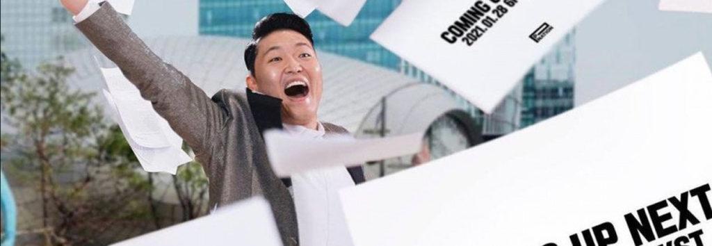 """Psy esta preparando algo con """"Coming up next"""" con P-Nation"""