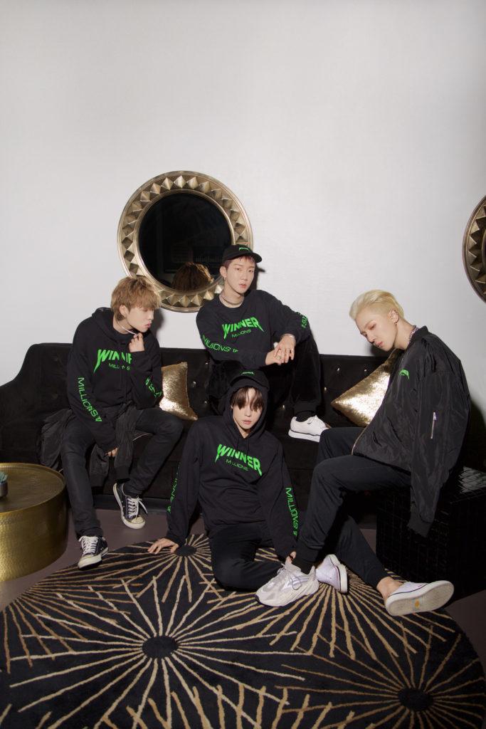 WINNER lanza su colección de ropa de edición limitada en colaboración con REPRESENT
