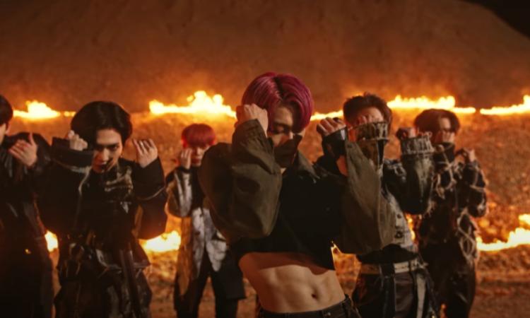 ATEEZ calienta el escenario en la vista previa de su nueva canción 'Fireworks (I'm the One)'
