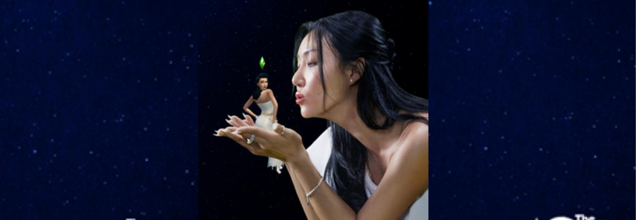Hwasa, do MAMAMOO, estreia sua colaboração com o The Sims 4, 'Play With Life'