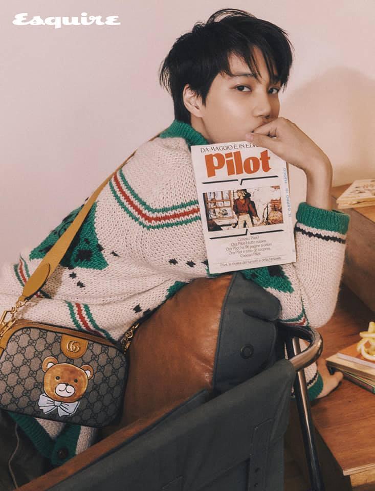 """Kai de EXO lanza su colaboración especial con Gucci, """"KAI x Gucci Capsule Collection"""""""