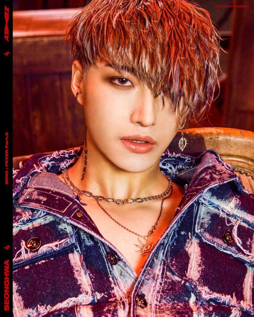 Seonghwa de ATEEZ comparte intensas fotos para 'Zero: Fever Part.2'