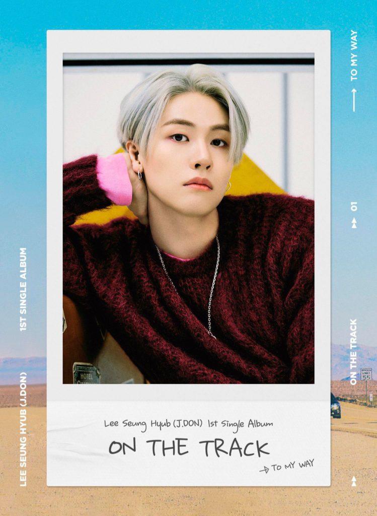 Seunghyub de N.Flying revela fotos teaser para 'On the Track'