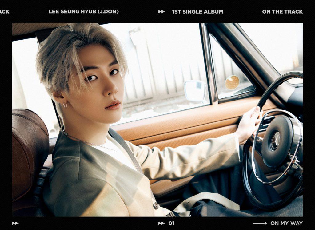 Seunghyub de N.Flying enamora en sus nuevas fotos conceptuales para 'On the Track'