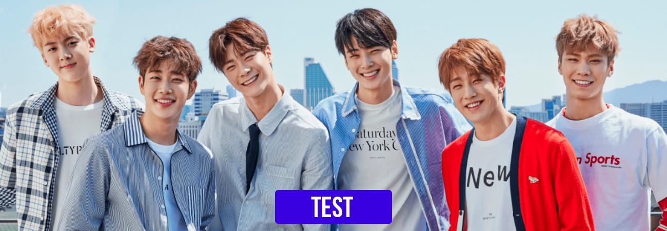 TEST: ¿Qué integrante de ASTRO sería tu novio?