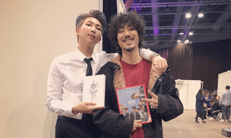 TigerJK habla de la importancia de su colaboración con RM de BTS