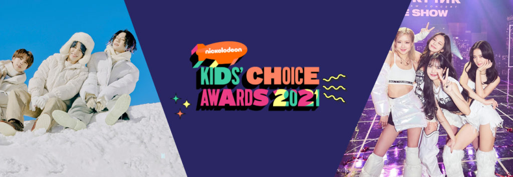 Vota por BTS y Blackpink en kids choice awards 2021